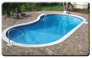 Inground Pools Shapes information of our inground pools. : adirondack pools & spas, inc.