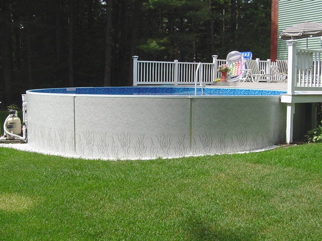 Radiant Above Ground Pool - Queensbury