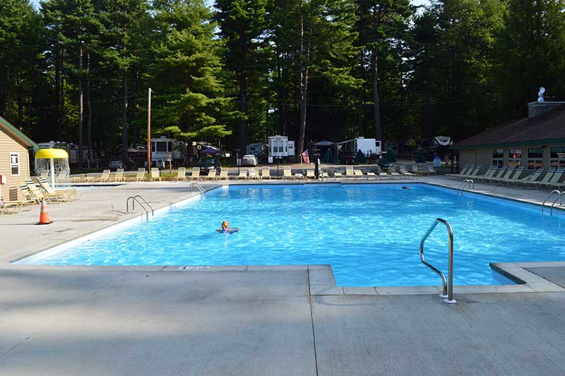 After Construction on the Adirondack Gateway Pool