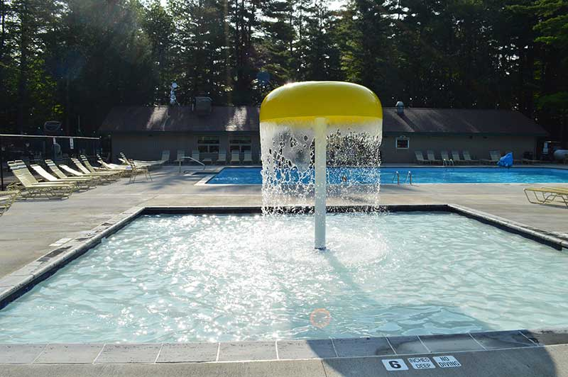 Water Umbrella for the Adirondack Gateway Pool