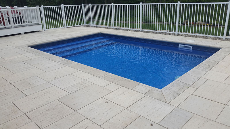 Full width Rectangle Pool