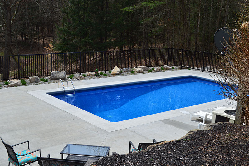 Rectangle Pool in Fort Ann